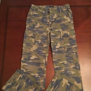 boy's camouflage GAP KIDS cargo pants.../sz 16